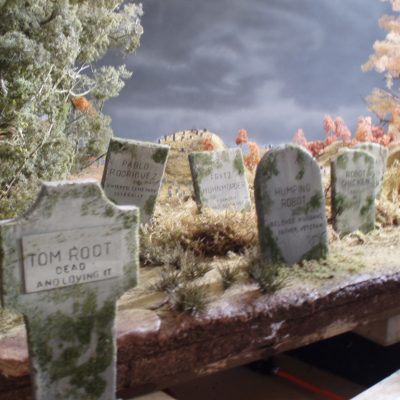 CARVE & PAINT TOMBSTONES