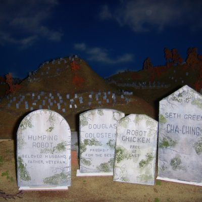 TOMBSTONE CARVING & PAINTING