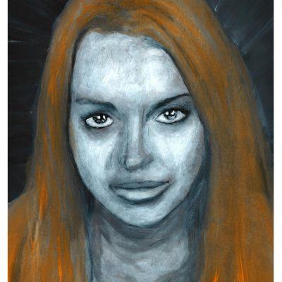 Lindsay Lohan Mugshot #3