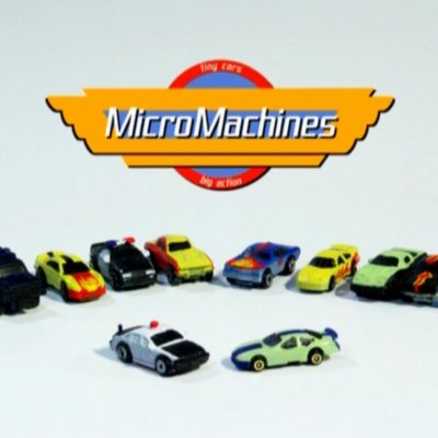 MICRO MACHINE CAR PAINT