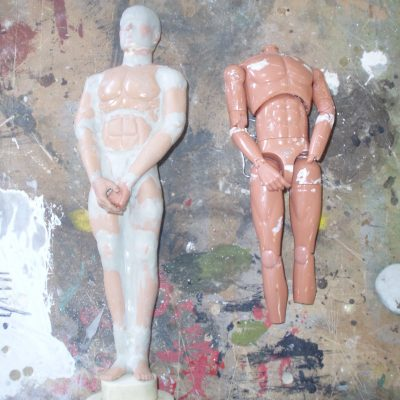 CARVE KEN DOLL INTO OSCAR STATUE AND PAINT